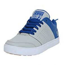Buy West Code Men's Synthetic Leather Casual Sneakers Size 8068-Grey-10 from Amazon