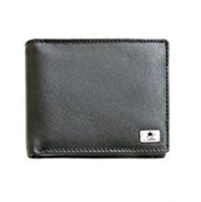 Am Leather Leather Black Men's Wallet for Rs. 599