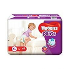 Huggies Wonder Pants Extra Large Size Diapers (42 Count) for Rs. 548