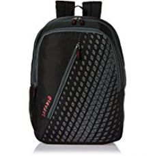 Buy Safari 25 Ltrs Black Casual Backpack (Seesaw-Black-CB) from Amazon