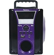 Buy Tronica ENJOY VIOLET Speaker with Emergency Light (Black and Purple) from Amazon