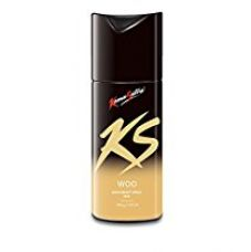 KS Kamasutra Deodorant for Men, Woo, 150ml
