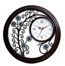 SNS Creations Designer Round Wall Clock 56cm X 56cm for Rs. 1,860