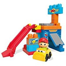Mega Bloks First Builders Spinning Garage, Multi Color for Rs. 953