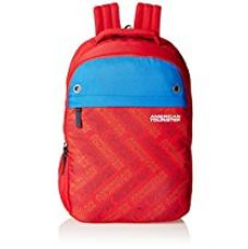 American Tourister 25 Lts Red Casual Backpack (AMT ALLER2016 BACKPACK02_8901836129359) for Rs. 999