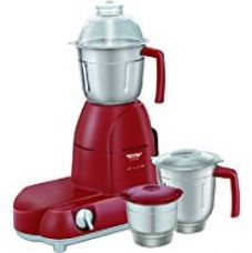 Buy Maharaja Whiteline Smart Chef Red Treasure 750-Watt Mixer Grinder (Red and Silver) from Amazon