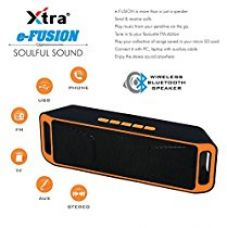 Buy XTRA Mega Bass Wireless Bluetooth Speaker Portable Stereo FM Radio, Support USB HOST & Micro SD card Pairs with All Bluetooth Devices and 3.5mm Jack from Amazon