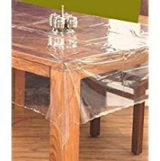 Buy Kuber Industries™ Transparent Center Table Cover 4 Seater 40*60 Inches from Amazon