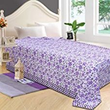 Buy Zesture Bring Home 100% cotton single AC topsheet from Amazon