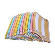 Buy S4S Cotton Face Towels (Pack of 12) from Amazon
