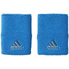 Buy Adidas AI9040 Polyester Wristband, Free Size (Blue) from Amazon