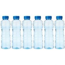 Buy Princeware Victoria PET Fridge Bottle, 975 ml, Blue, Set of 6 from Amazon