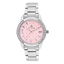 Buy Altedo Pink dial Women watch - 637PDAL from Amazon