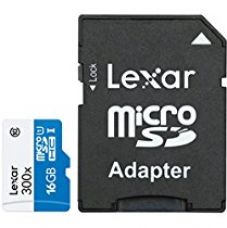 Buy Lexar High Performance MicroSD 16GB 300X High Speed Class 10  for Rs. 425