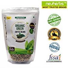 Buy Neuherbs 100% Natural Organic Green Coffee Beans ( Decaffeinated & Unroasted Arabica Coffee ) - 400g from Amazon