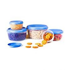 Cello Fabby Container Set, 5-Pieces, Blue for Rs. 279
