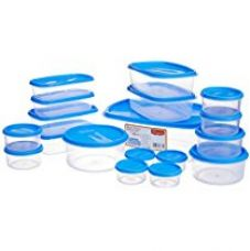 Buy Princeware SF Tal Pak Container Set, 18-Pieces, Blue from Amazon