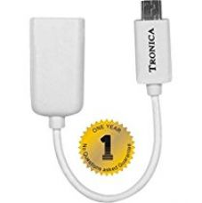 Buy TRONICA USB OTG CABLE WITH ONE YEAR FREE REPLACEMENT WARRANTY from Amazon