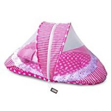 Littly Contemporary Cotton Bedding Set (Pink, White) for Rs. 549