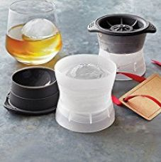 Buy Clytius 2pc High Quality Large Slow Melting - Sphere Ice Ball Maker Molds Set - 6cm Ball Mold - Amazing Silicone Round Ice Ball Maker Tray By ?