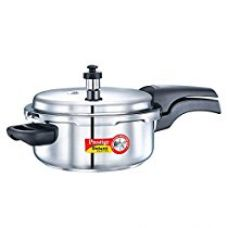 Prestige Deluxe Alpha Outer Lid Stainless Steel Pressure Cooker, 3 Litres for Rs. 2,019