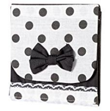 My Gift Booth Cotton Sanitary Pad Organiser, White and Black for Rs. 225