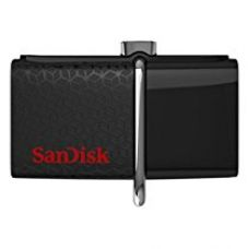 SanDisk SDDD2-128G-GAM46 Ultra 128GB USB 3.0 OTG Flash Drive with micro USB connector For Android Mobile Devices for Rs. 3,145