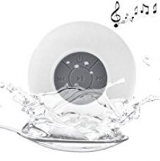 Buy Unifree Water Proof Bluetooth Shower Speaker With MIC,White from Amazon