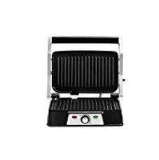 Oster CKSTPM129 1500- Watt Panini Maker with Grill (Black and Silver) for Rs. 2,599