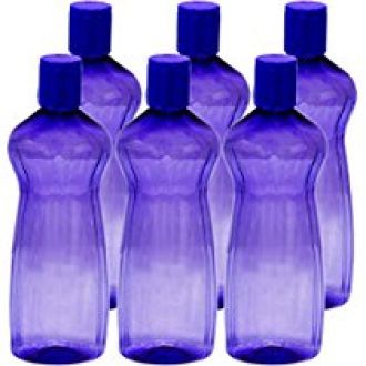 Buy Princeware Aster Pet Fridge Bottle, 500ml, Set of 6, Violet from Amazon