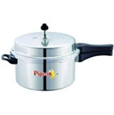 Buy Pigeon Favourite Al Outer Aluminum Pressure Cooker, 5 Litres, Silver from Amazon