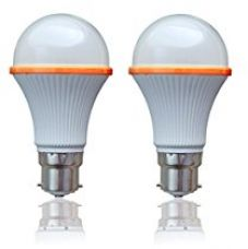 SSK LED (Now Syska LED) 3 Watts Unbreakable LED Bulb (Pack of 2, Cool Day Light) Made in Korea for Rs. 430