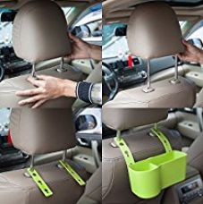 Buy NexGen Hanging Auto Car Seat Back Drink Holder Car Beverage Bottle Cup Stand Mount Rubbish Cap Storage Box (Random Colors) from Amazon
