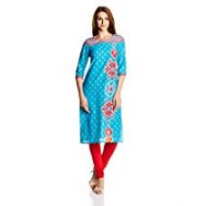 Buy Aurelia Women's A-Line Kurta from Amazon