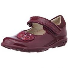 Clarks Girl's Ella Fly Fst Berry Patent Leather First Walking Shoes - 3.5 UK for Rs. 1,080