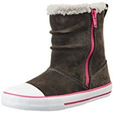 Clarks Girl's Kyla Star Inf Grey Suede Leather Boots - 8.5 kids UK/India (26 EU) for Rs. 1,080
