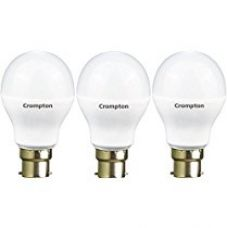 Buy Crompton 7WDF B22 7-Watt LED Lamp (Cool Day Light and Pack of 3) from Amazon