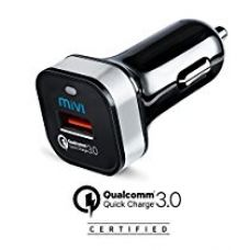 Buy Qualcomm® Certified Quick Charge 3.0 & Motorola Turbo charge Mivi Car Charger for charging Moto G4 / G4 Plus and Super Fast charging for Galaxy S6/S7/Edge/Plus, from Amazon