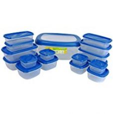 Princeware SF Packing Container, 17-Pieces, Blue for Rs. 670
