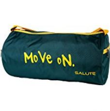 SALUTE Polyester 20 Ltr Green Sports Duffel for Rs. 349