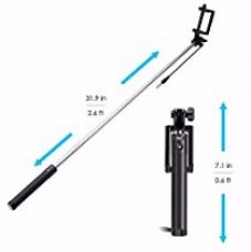 Buy ShopX iClick Smart Selfie Stick for iPhone and Android Phones from Amazon