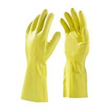 Buy Primeway Rubberex Latex Household Rubber Hand Gloves, Large, 1 Pair, Yellow from Amazon
