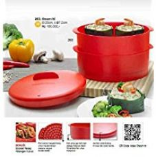 Buy Tupperware Steam It Container (meadow) from Amazon