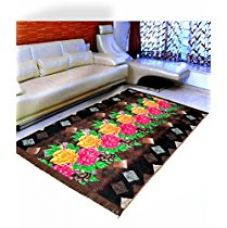 Warmland Floral Velvet Carpet - 60