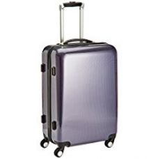 Airmate Polycarbonate 65 cms Purple Hard sided Suitcase (AM005) for Rs. 2,990