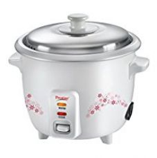 Buy Prestige Delight PRWO 1.0 1-Litre Electric Rice Cooker (White) from Amazon