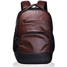 F Gear Luxur Brown 25 liter Laptop Backpack for Rs. 774