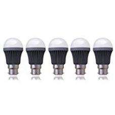 SSK LED (Now Syska LED) 5 Watts Unbreakable Bulb (Pack of 5, Cool Day Light) Made in Korea for Rs. 1,560