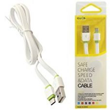 Buy LDNIO Clues Premium Tangle Free Micro-USB Sync and Fast Data Transfer Cable XS-07B for Android Phones and Tablets (White) from Amazon