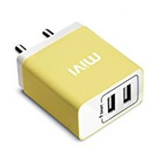 Buy Mivi Wall USB Charger (Yellow) from Amazon